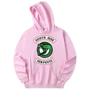 Riverdale Hoodie Sweatshirts Plus Size South Side Serpents Streetwear Tops Spring Hoodiesdresslliy-dresslliy