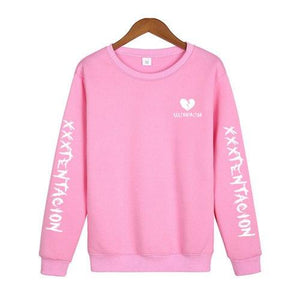Xxxtentacion Hoodies Men Women 2018 Spring New Printed Sweatshirts Men Pullover Plusdresslliy-dresslliy