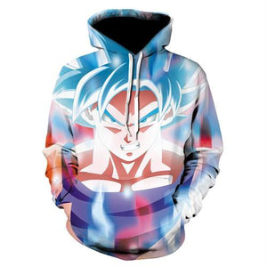 Hot Anime Dragon Ball Hoodies Men Women 3D Sweatshirts Super Saiya Vegetadresslliy-dresslliy