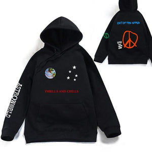 2018 TRAVIS SCOTT THRILLS AND CHILLS HOODIE Men/Women Fashion Harajuku Hip Hopdresslliy-dresslliy