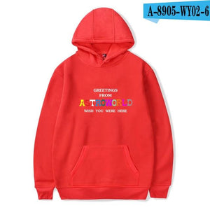 Print Brand ASTROWORLD Hooded Hoodies Men/Women Clothes 2018 Harajuku Hip Hopdresslliy-dresslliy
