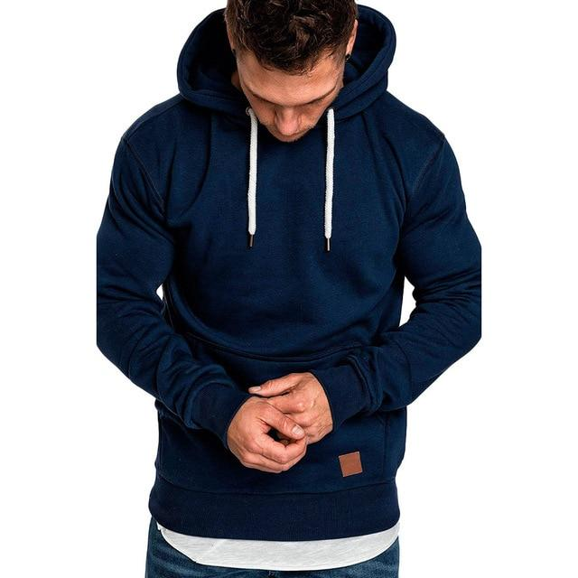 sweatshirt men 2018 NEW hoodies brand male long sleeve solid hoodie mendresslliy-dresslliy