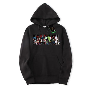 2018 autumn and winter new fashion MARVEL hoodie men's hip hop streetdresslliy-dresslliy