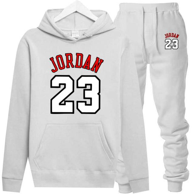 JORDAN 23 Hoodies Sweatshirt Men/Women New Fashion Bulls 23 Hoodie Sweatshirts+Sweatpants Suitsdresslliy-dresslliy