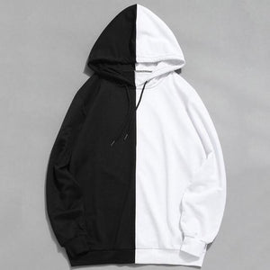 2018 New Style Fashion Hot Men's Hoodie Casual With Hat Cotton Longdresslliy-dresslliy