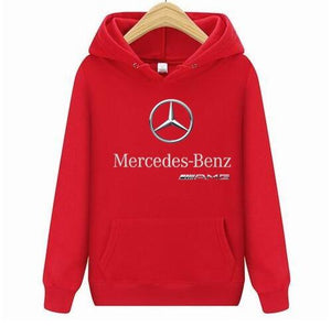2018 Newest Benz Hoodie Men Benz Soft Auto Car Short Teesdresslliy-dresslliy