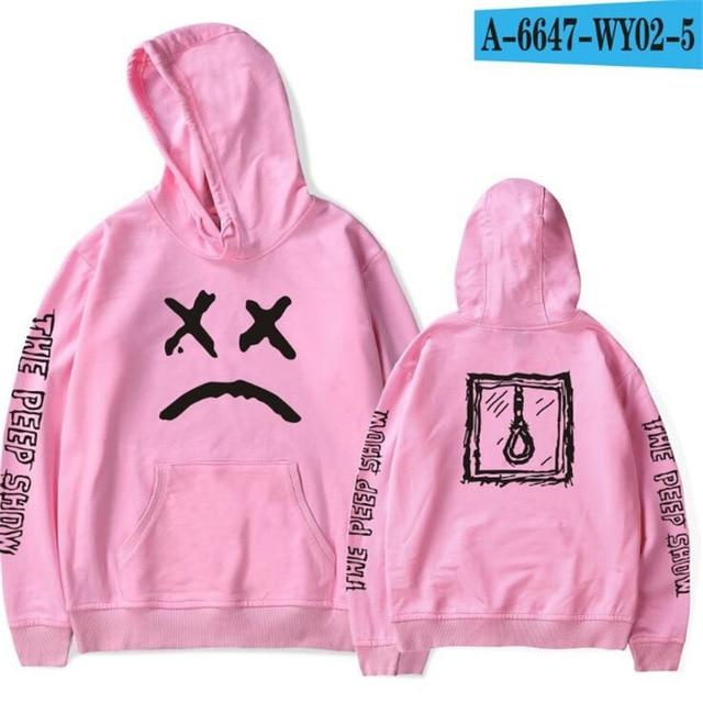 New Lil Peep Hoodies Men Love Winter Men Sweatshirts Hooded Pullover Casualdresslliy-dresslliy