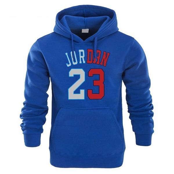 Hot 2018 New JORDAN 23 Letter Print Sweatshirt Men Hoodies Fashion Soliddresslliy-dresslliy