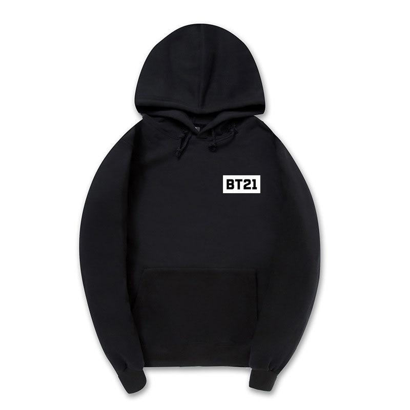 Professional Dropshipping BT21 X Cute Hip Hop Hoodie Sweatshirts Men Womendresslliy-dresslliy