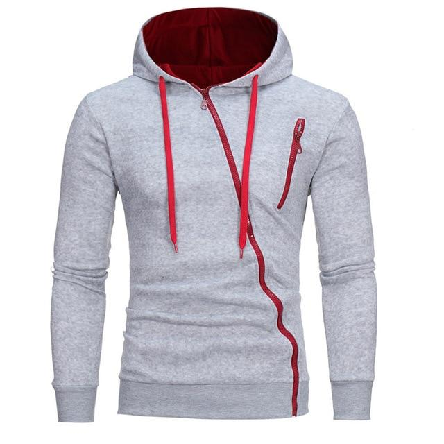 New Fashion Casual Autumn Winter Men Hoodies Coat Slim Long Sleeve Hoodiesdresslliy-dresslliy