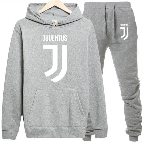 2018 Men's and Women's Juventus Print Set Cotton Jersey Hoodie Men's Men'sdresslliy-dresslliy