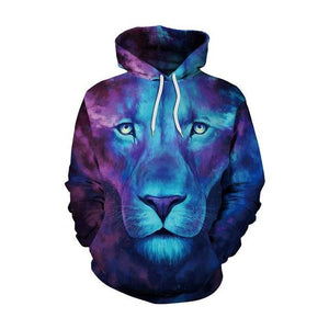 3D Digital Printed Hoodies Unisex Hooded Hoodies Sweatshirts Jackets Pullover Fashion Tracksuitsdresslliy-dresslliy