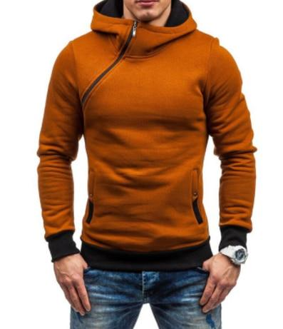 2018 Fashion Hoodies Men Sudaderas Hombre Hip Hop Mens Brand Solid hoodeddresslliy-dresslliy