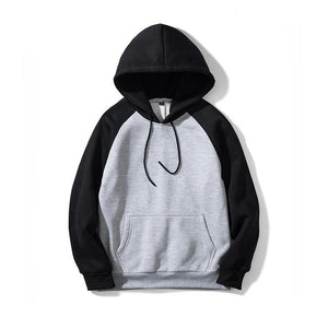 USA SIZE Fashion Color Hoodies Men's Thick Clothes Winter Sweatshirts Men Hipdresslliy-dresslliy