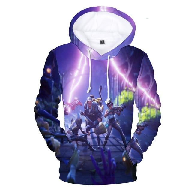 Fans Wear 2018 Battle Royale 3D Men Women Sweatshirt Cute Hoodie Battledresslliy-dresslliy