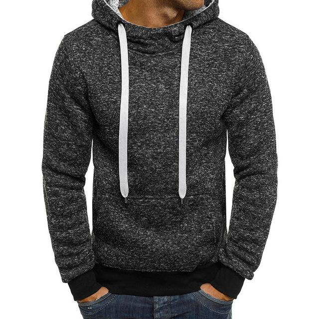 Sweatshirt Men Hoodies 2019 Spring Autumn Hiphop Pullover Hoody Fleece Soliddresslliy-dresslliy