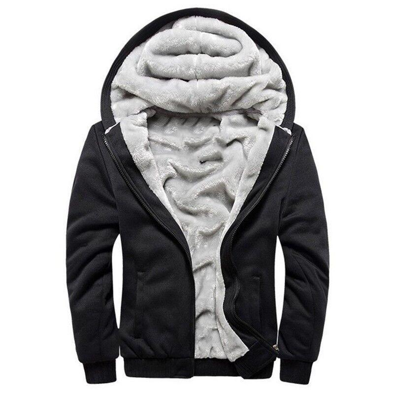Hoodies Men Hooded Casual Wool Winter Thickened Warm Coat Male Velvet Maledresslliy-dresslliy