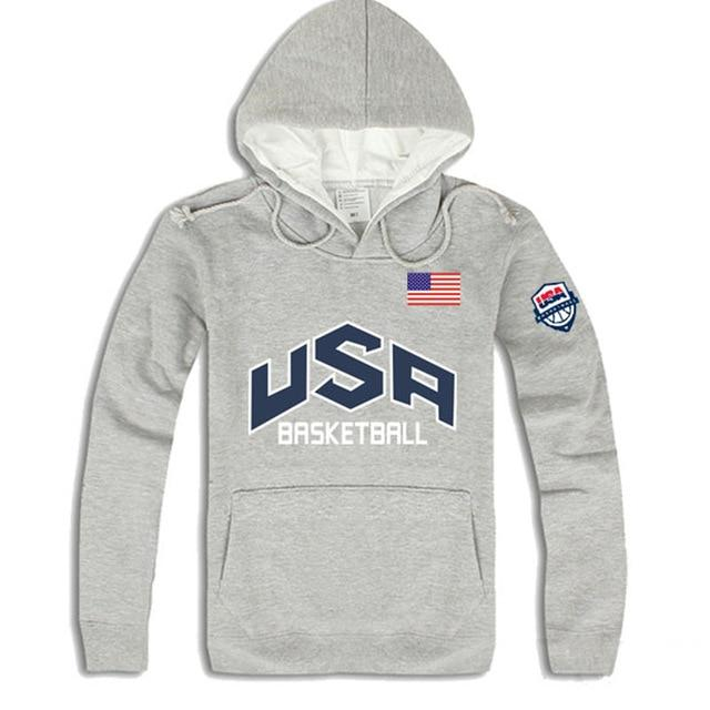 2019 Fashion brand autumn winter Men Hoodies Mens Hip Hop USA Basketballdresslliy-dresslliy