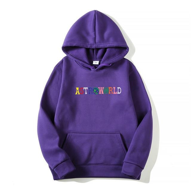 2019NEW Men hoodies Travis Scott Astroworld WISH YOU WERE HERE Sweatshirt Mendresslliy-dresslliy