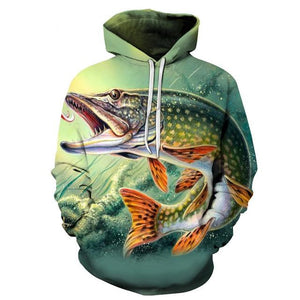 2019 Wolf Men Hoodie Print 3D Sweatshirts Hoody Morty Anime Fashion Coatdresslliy-dresslliy
