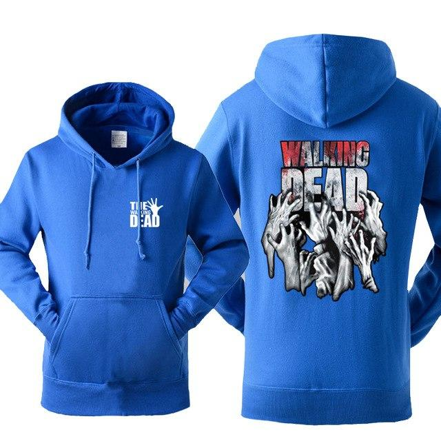 The Walking Dead Cool Men Hoodies 2019 New Arrival Autumn Winter Warmdresslliy-dresslliy