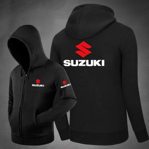 Men Hoodies 2019 New Design Male Solid Casual Fleece suzuki Sweatshirt Men'sdresslliy-dresslliy