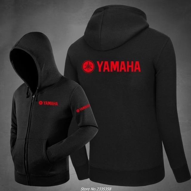 Men'S Winter 2019 New Solid Color Zipper yamaha Sweatshirt Men'S Fashion Casualdresslliy-dresslliy