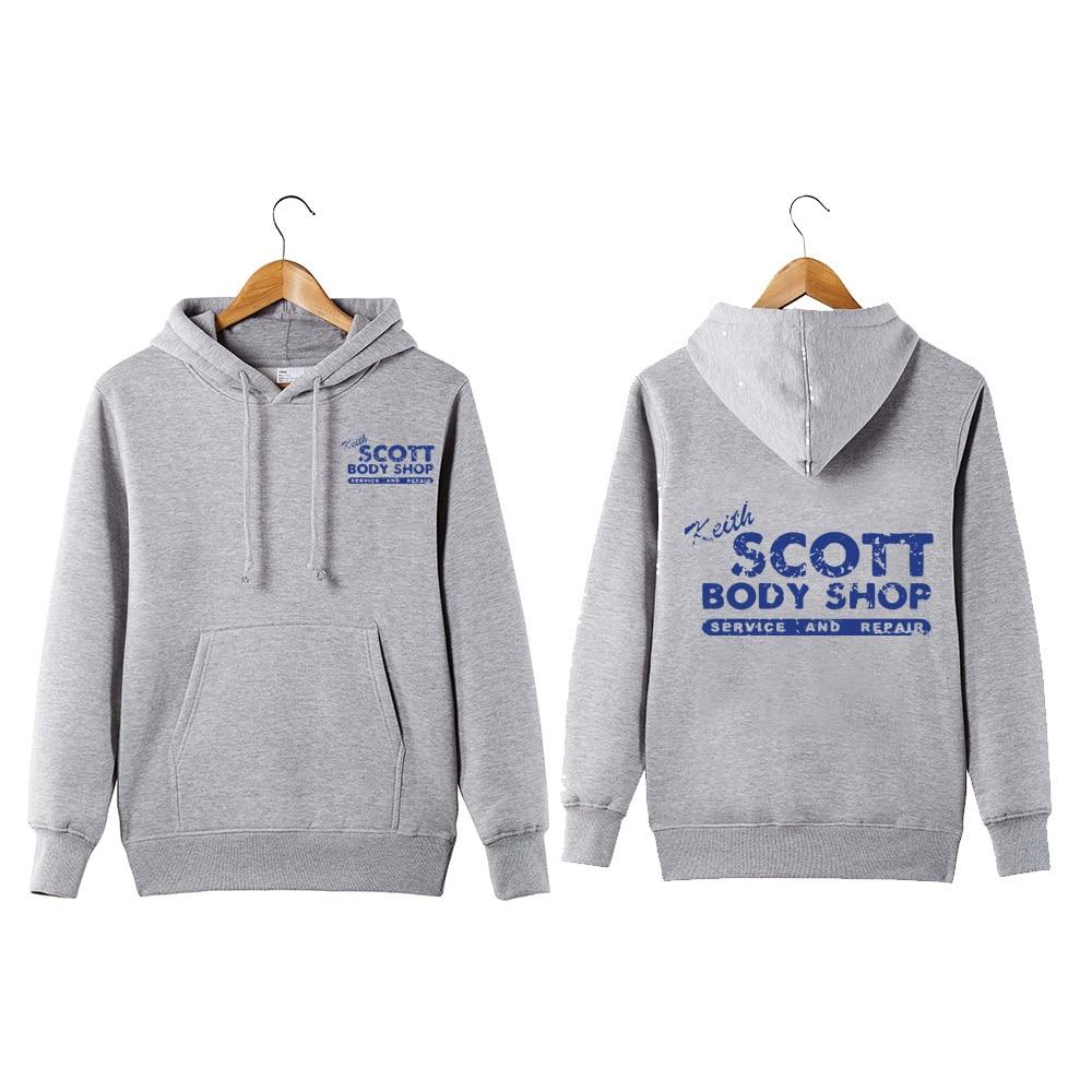 Vintage Style Keith Scott Body Shop Pullover Hoodie one tree hill cardresslliy-dresslliy