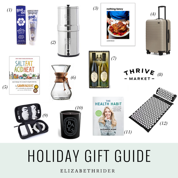 Elizabeths Holiday Gift Guide