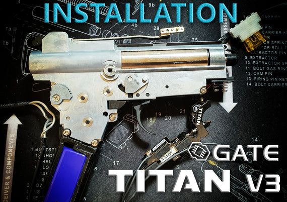 Gate Titan V3 MOSFET Install on the Metal AK