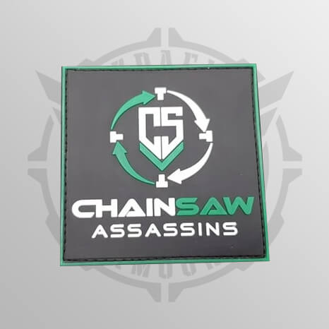 Chainsaw Assassins Green Patch