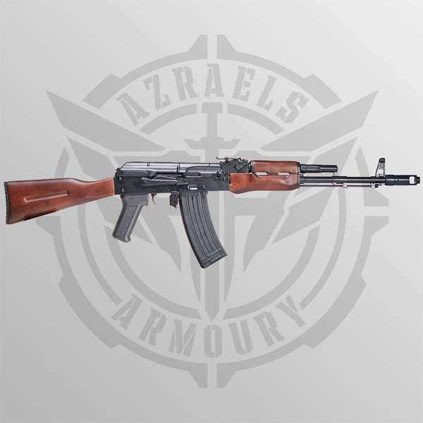 Real wood AK74