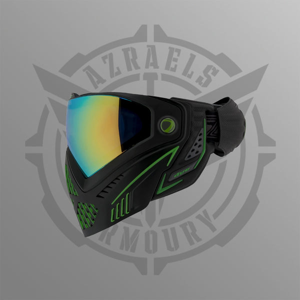 Dye i5 Emerald 2.0 Face Mask Green on Black