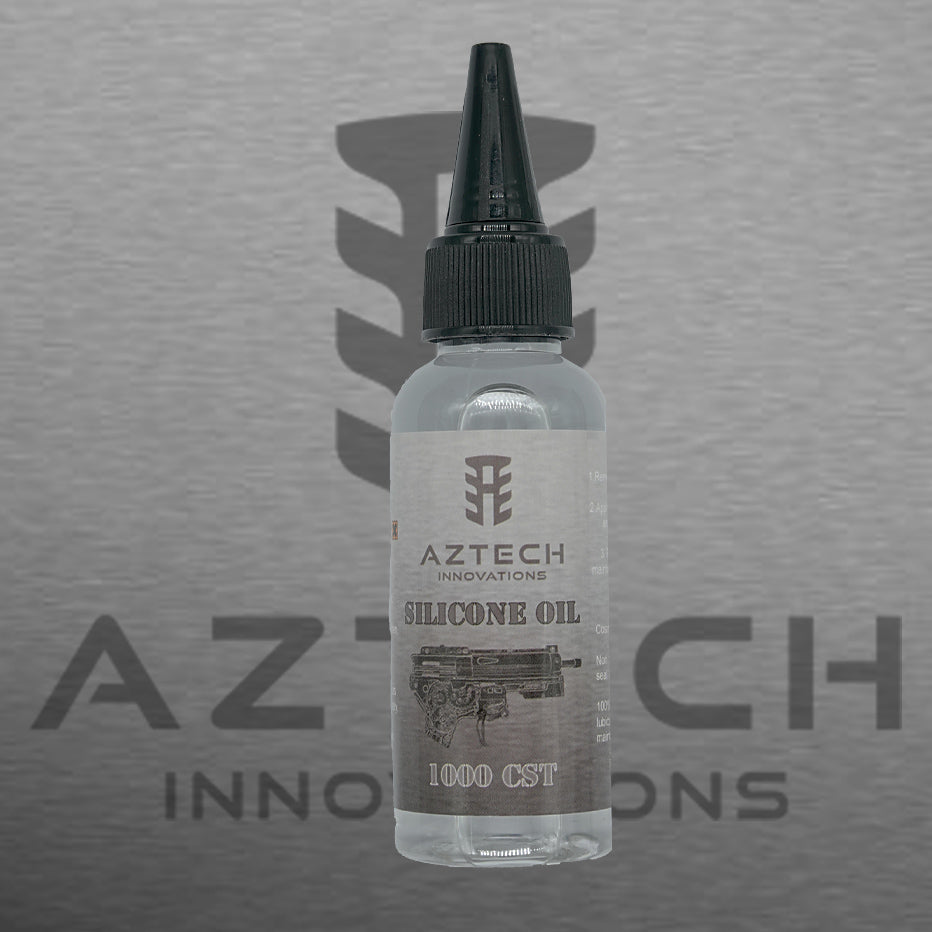 Aztech 1000cst 100% Pure Silicone Oil 50ml for AEG Rifle cylinders