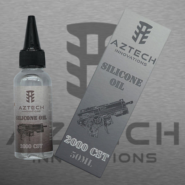 Aztech 2000cst 100% Pure Silicone Oil 50ml For GBB Pistols
