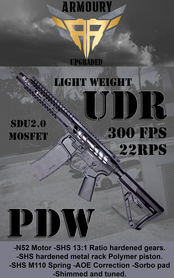 Upgraded 300FPS EMG F1 Titan UDR PDW Gel Blaster