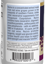Load image into Gallery viewer, Reziva® Resveratrol - 30 capsules