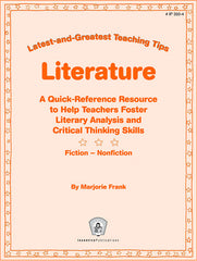Literature: Latest-and-Greatest Teaching Tips