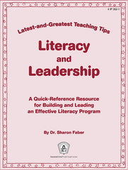 Literacy and Leadership: Latest-and-Greatest Teaching Tips