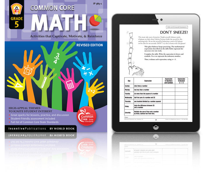 Common Core: Fifth Grade Math