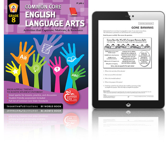 Common Core English Language Arts Grade 8