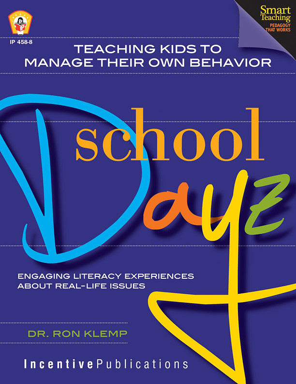 Teaching Kids to Manage their Own Behavior- School Dayz