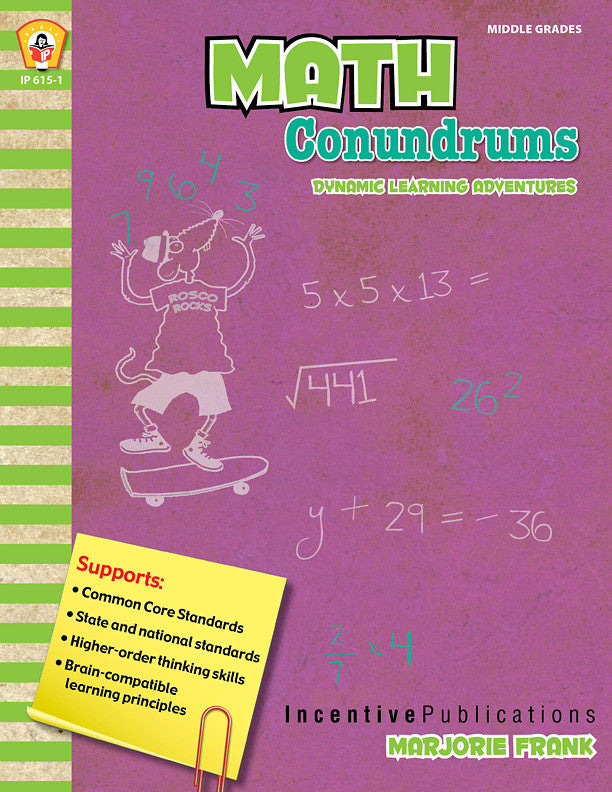 Learning Adventure Series-Math Conundrums