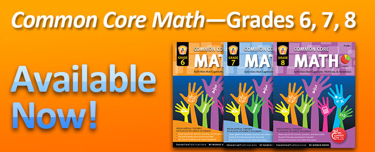 Common Core Math 6-8!