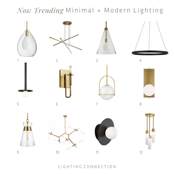 Minimalism Modern Lighting