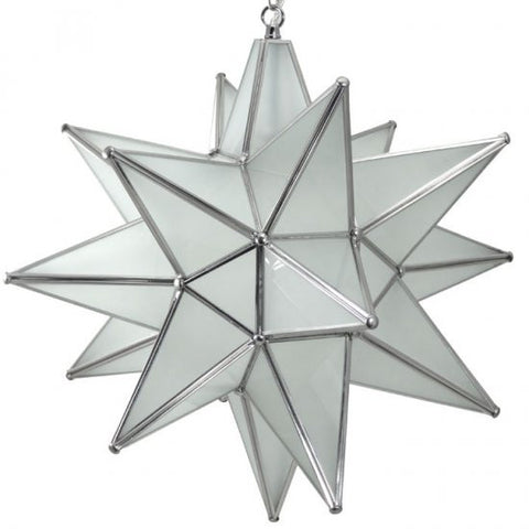 ... Moravian Frosted Glass Star Light ...  sc 1 st  Lighting Connection & Moravian Frosted Glass Star Light | Lighting Connection azcodes.com