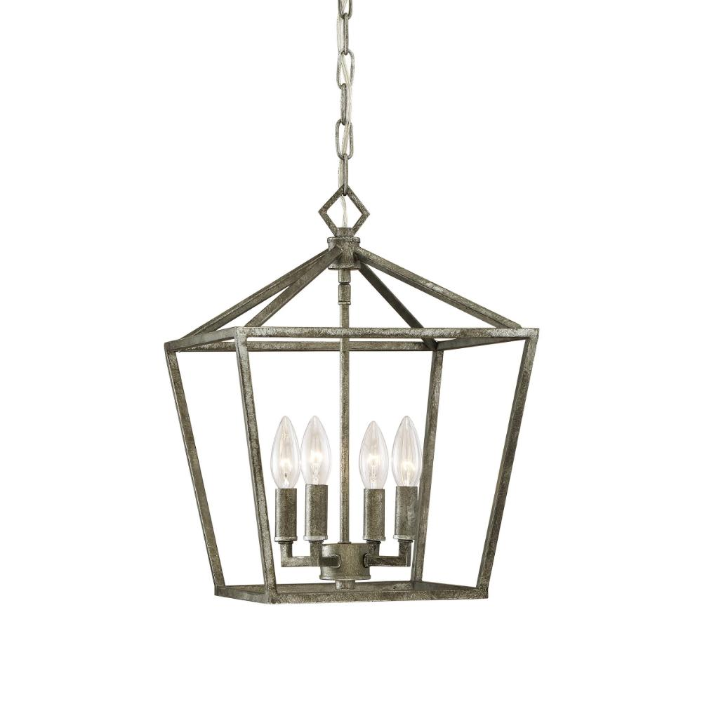 Geometric Cage Lantern OPEN BOX