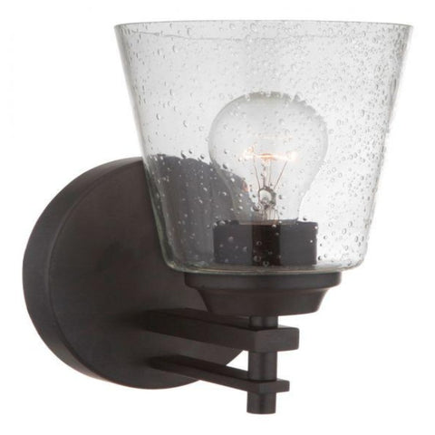Sutton Sconce, Sconce, Matte Black