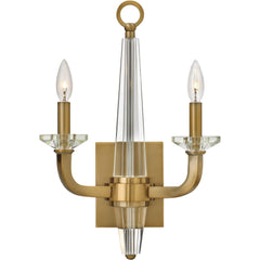 Ascher 2-Light Wall Sconce OPEN BOX