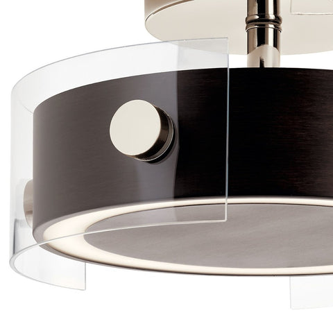 Tig LED Semi Flush Mount